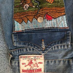 True Religion Original Buddha Jeans. Made in USA.